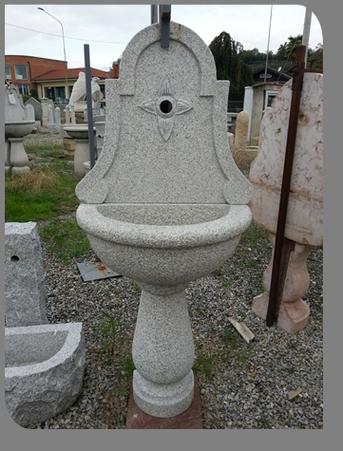 Fontane a parete granito marmo pietra di luserna estrazione lavorazione vendita online - Fontane in marmo da giardino ...