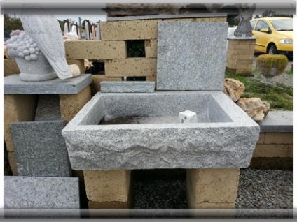 Lavandini in pietra naturale pietra di luserna estrazione lavorazione vendita online - Lavandini in pietra per esterno ...