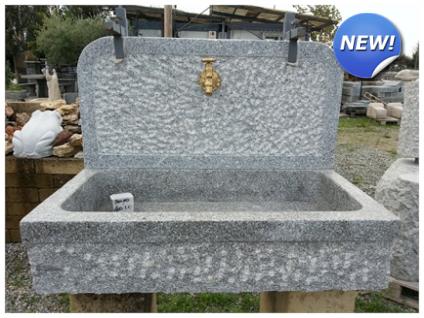 Lavandini in pietra naturale pietra di luserna - Lavandino in pietra per esterno ...