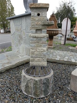 Fontane per giardino pietra di luserna granito pietra - Fontane a muro da giardino ...